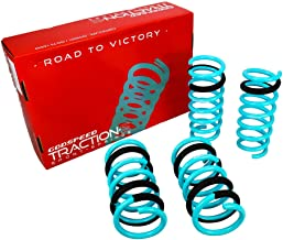 Godspeed LS-TS-II-0001-B Traction-S Performance Lowering Springs, Reduce Body Roll, Improved Handling, Set of 4