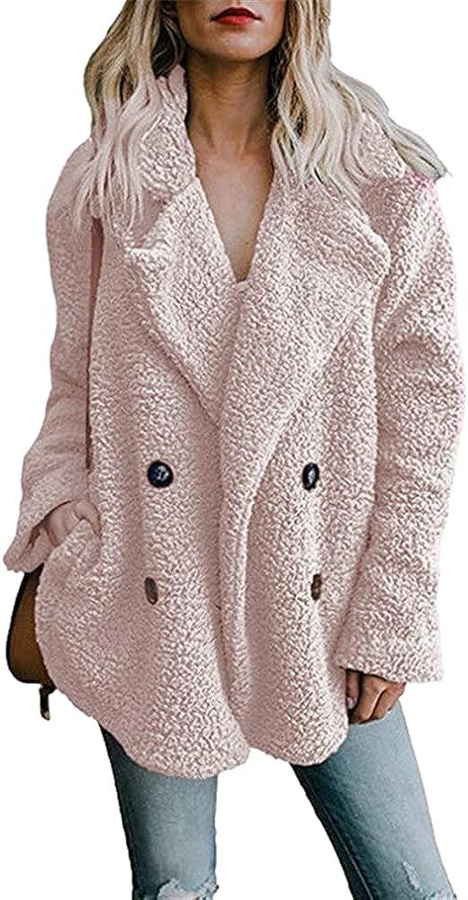 Teddy Coat Women Winter Coat Faux Fur Coats women Fur Coat