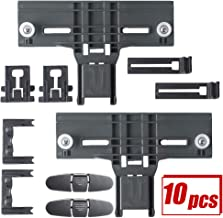 Wadoy W10350376 W10195839 W10195840 W10508950 W10250160 Dishwasher Rack Adjuster Kit Relacement for Kitchenaid Kenmore Whirpool Dishwasher Top Rack Parts