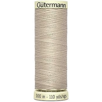 100 m 18 de bosque oscuro 100/% de coser todo el hilo de coser Gutermann 2t100//18
