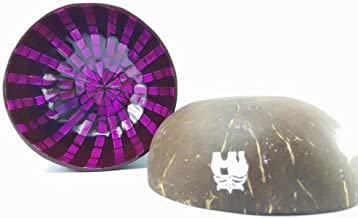 Beautifully Made And Charming Coconut Shell Lacquer With Shell And Eggshell, Fancy Coconut Shell, Decorative Bowl Centerpiece, Unique design, Best For Collection/ Wedding/ Birthday Gift (Kala01)