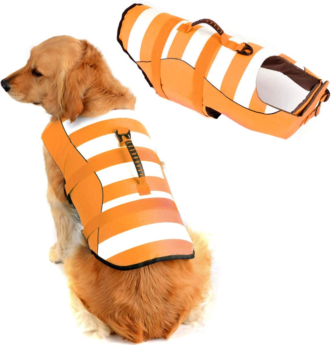 High Visibility Dog Life Jacket Vests Swimming Super for 2021 spring and summer new OFFer Safety
