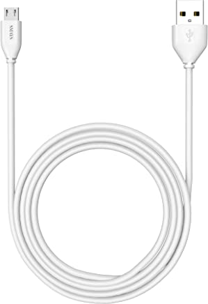 Amazon Kindle Replacement USB Cable, 6 ft Charger Cord (Accessories for Kindle Fire, Touch, Keyboard, DX, and Kindle)