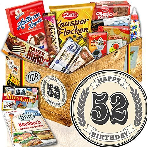 52. Geburtstag + Süßes Ostpaket + Geschenke zum 52 Geburtstag einer Frau