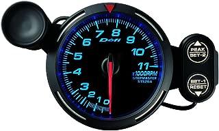 Defi DF12101 Racer Tachometer, 11000 RPM, Blue, 80mm