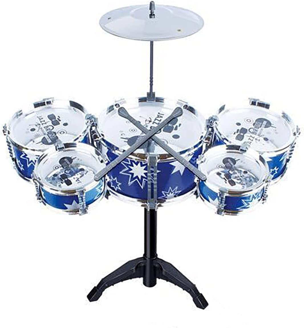 Factory outlet Fun Children's Jazz Drum With Stool Set Washington Mall Durable Kids That