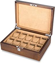 GPWDSN Opbergdoos - puur massief houten horloge doos opbergdoos massief houten armband horloge collectie doos horloge disp...