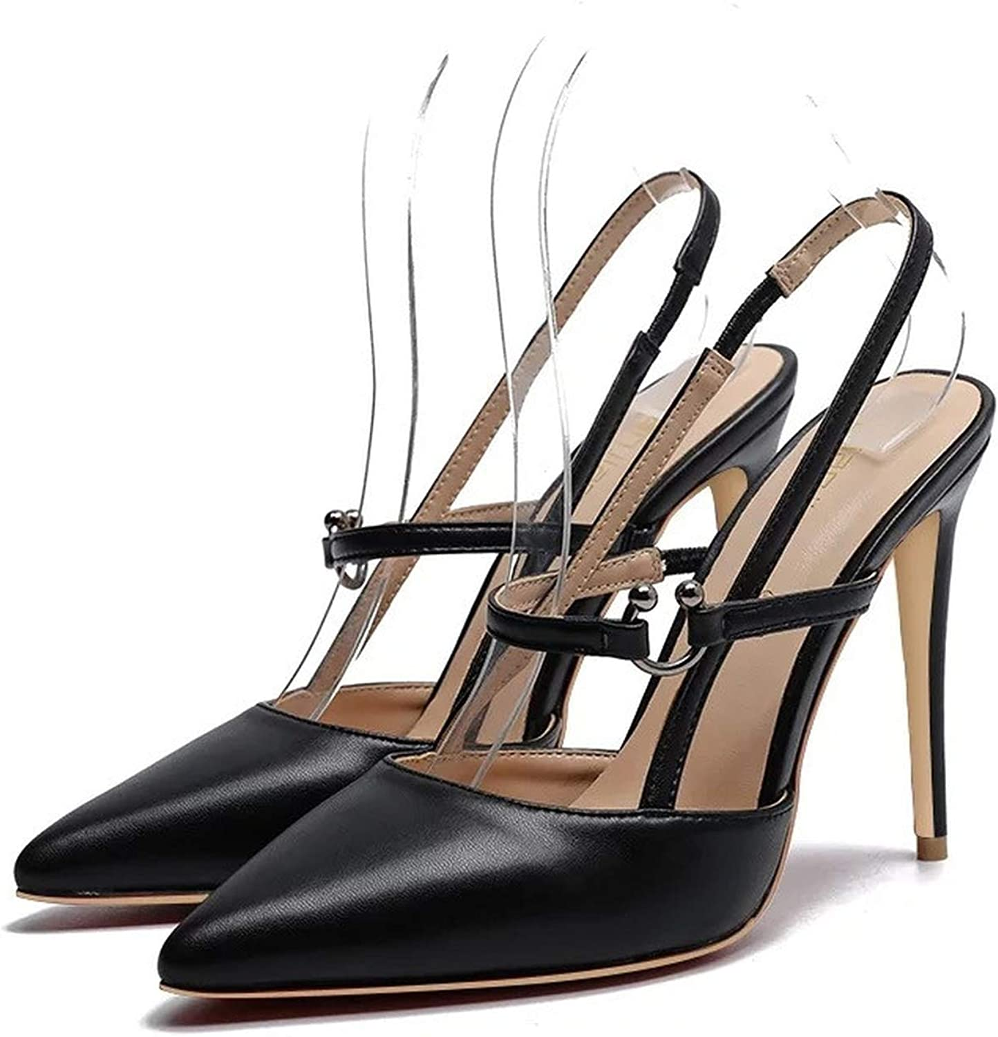 Summer shoes Woman Pointed Toe Buckle Super high Heels Sandals Women Ladies Prom Wedding shoes