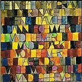 Einst dem grau der nacht enttaucht 1918 Paul Klee p9917 A4