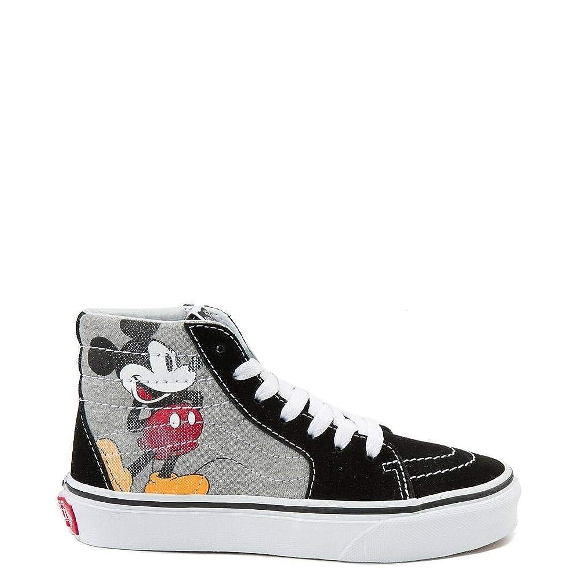 一緒書き込み実際に[バンズ] 靴?シューズ スニーカー Disney x Sk8 Hi Skate Shoe - Little Kid/Big Kid ミッキー マウス US 1 (19cm) [並行輸入品]