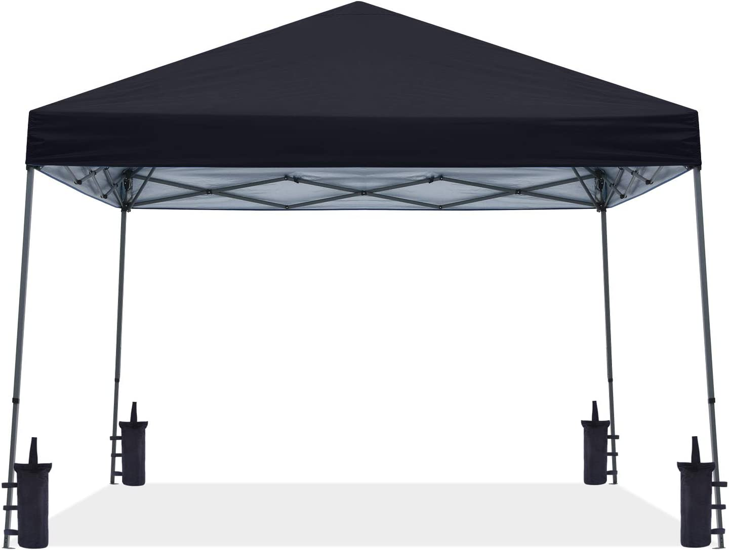 ABCCANOPY Stable Pop up Tent sale Outdoor Canopy Black Year-end gift