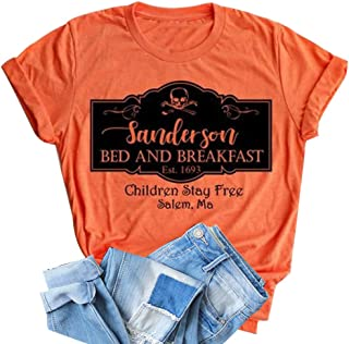 sanderson sisters bed and breakfast shirt