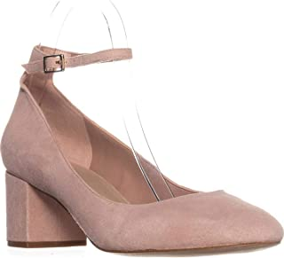 ALDO Womens Clarisse Suede Ankle Strap Block Heels
