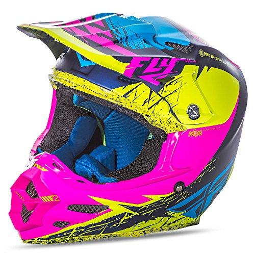 Fly Racing Helm F2 Carbon MIPS Gelb Gr. L