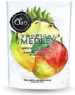 Oso Snacks Tropical Medley - Mango, Pineapple, Banana - 26oz