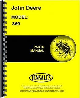 New John Deere 350 Parts Manual