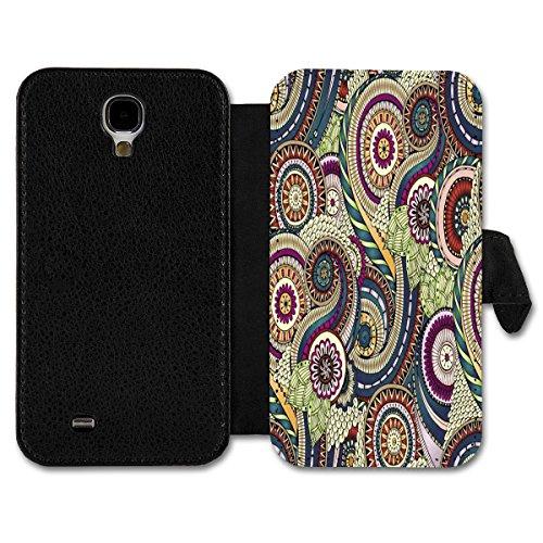 Book Style Flip Handy Tasche Case Schutz Hülle Schutzhülle Schale Etui Auswahl Nr. 16 (Design 17) für Samsung GT-i9100 Galaxy S2