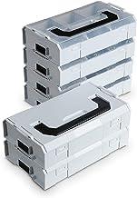 L-Boxx Mini van Bosch Sortimo grijs 10st   Assortimentbox voor kleine onderdelen   sorteerbox Mini LBOX