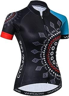 Women Cycling Jersey Short Sleeve Bike Bicycle Clothing Shirt