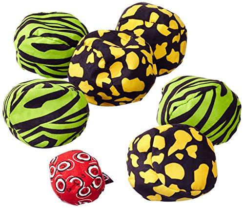 Zoch 601131600 Crossboule c³ Set Jungle, der ultimative Boule Spaß mit flexiblen Bällen für drinnen und draußen, ab 6 Jahren