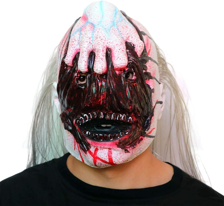 Circlefly Masque d'Horreur HalFaibleeen hanté Maison Mutant Demon poignée Ghost Head Vampire Zombie Masque