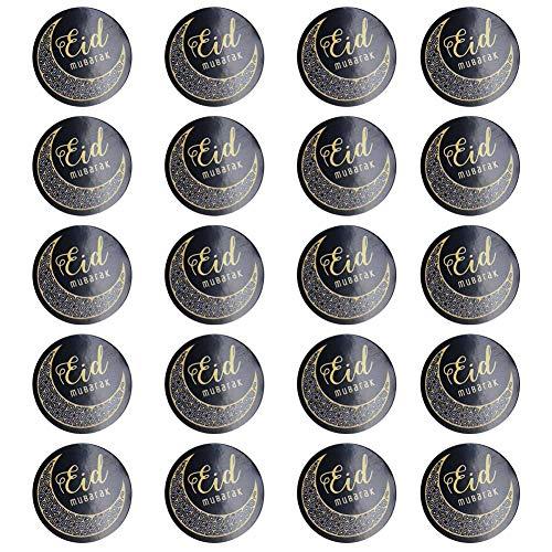 Dikke Beer Tassen Sticker Etiketten Zelfklevende Enveloppen Seal Stickers Gift Packing Treat Bag Decor voor Ramadan moslim Decal
