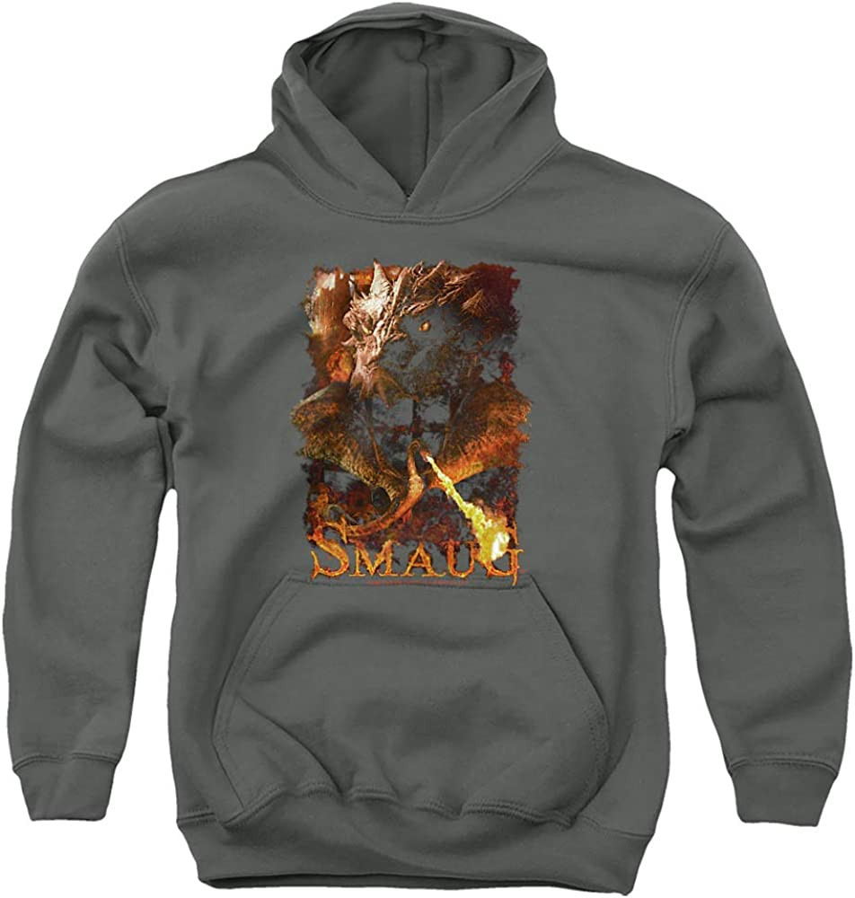 Max 64% OFF The Hobbit Ranking TOP5 Smolder Unisex Hoodie Youth Pull-Over