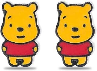 Winnie the Pooh Stud Earrings Pooh Earrings Cartoon Pooh Charm Jewelry for Girls
