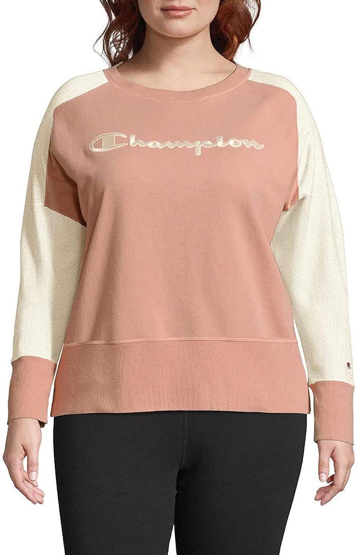 Champion Womens Plus Activewear Fitness Sweatshirt