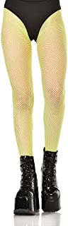 iHeartRaves Women's Neon Thigh Highs Fishnet Stockings
