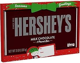 HERSHEYS Milk Chocolate Bar, 3 Pound