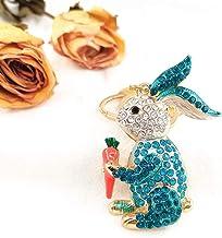 Legering Sleutelhanger Kleur Diamant Cartoon Auto-accessoires Hanger Geschenk blauw