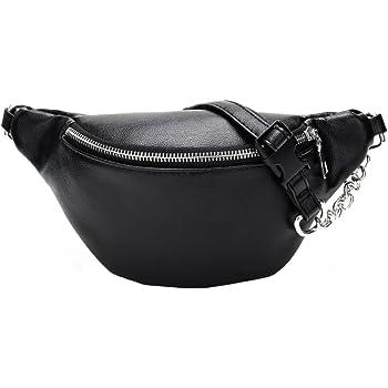 Inkach Waist Pack Bags Unisex Printed Fanny Packs Sport Running Bumbag Shoulder Chest Bag