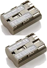 YCM 2 Pack Battery for Canon EOS 300D D30 D60 40D 20D 30D 50D 5D BP-512 BP-511A BP-508