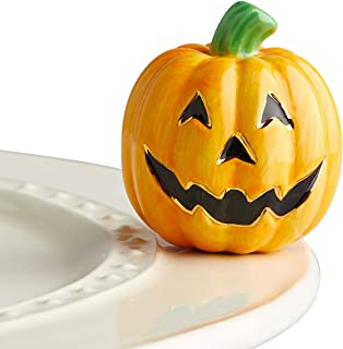 Nora Fleming Hand-Painted Mini: Carved Cutie (Jack O' Lantern) A216