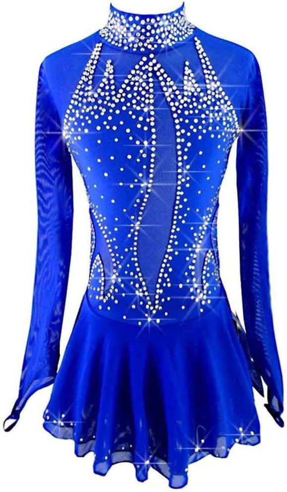 SHANGN Skating Finally resale start Dress for Handmade Ice Girls Reservation Women
