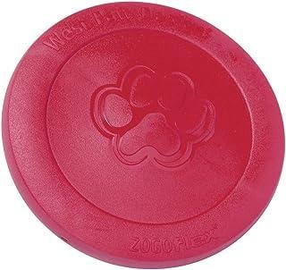 West Paw Zogoflex Zisc Durable Dog Frisbee Nearly Indestructible Flying Disc Dog Toy, 100% Guaranteed Tough, It Floats!, M...