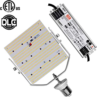 240W LED Retrofit Kit Parking Lot Fixture 347 Volt 480 Volt E39 Mogul Base Replace 1500Watt Metal Halide/HPS/HID Outdoor Pole Light, Daylight White Tennis Court Lights (480Volt (AC185-528V))