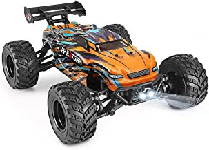 HAIBOXING RC Cars 1:18 Scale 4WD Off-Road Buggy 36+KM/H High Speed 18858, 2.4GHz All-Terrain Waterproof Remote Control Tru...