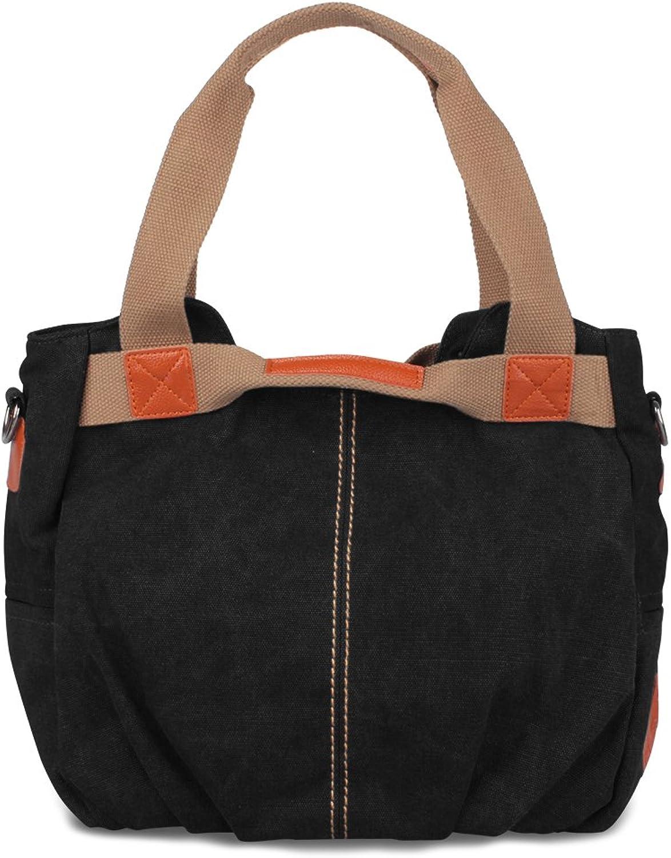MSXUAN Vintage Schultertasche Canvas Damen Handtasche   Umhängetasche   Tragetasche B072JXRR5S  Sonderpreis
