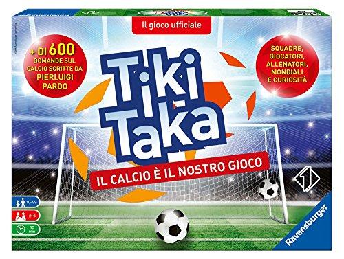 Ravensburger 26791 Tiki Taka Il Calcio, Gioco di Società, 2-6 Giocatori, Età Raccomandata 10+