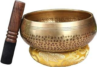 Tibetan Bowl Singing Bowl Dish Tibetan Yoga Singing Meditation Bowl Decoration Buddhist Home Decoration Craft (Size : XXL)