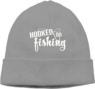 Hooked On Fishing Beanie Hat Snapback Men and Women Winter Cap