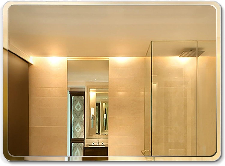 GUOWEI Mirror Wall Mount Bathroom Makeup Vanity Frameless Rectangle 6 Size