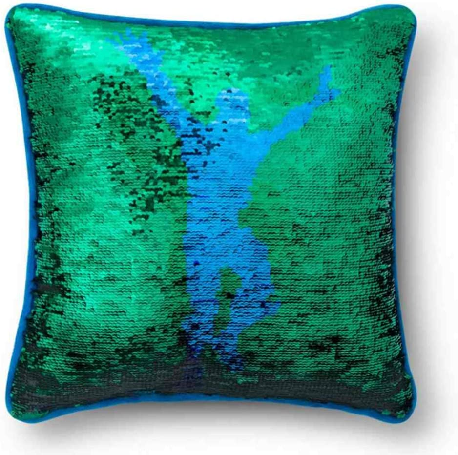 Fortnite Franco Financial sales Limited price sale Sequin Pillow Blue Throw