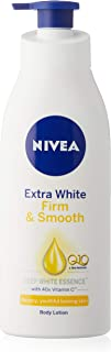 Nivea Body Care Unisex Extra White Lotion Q10, Firm and Smooth, 400ml