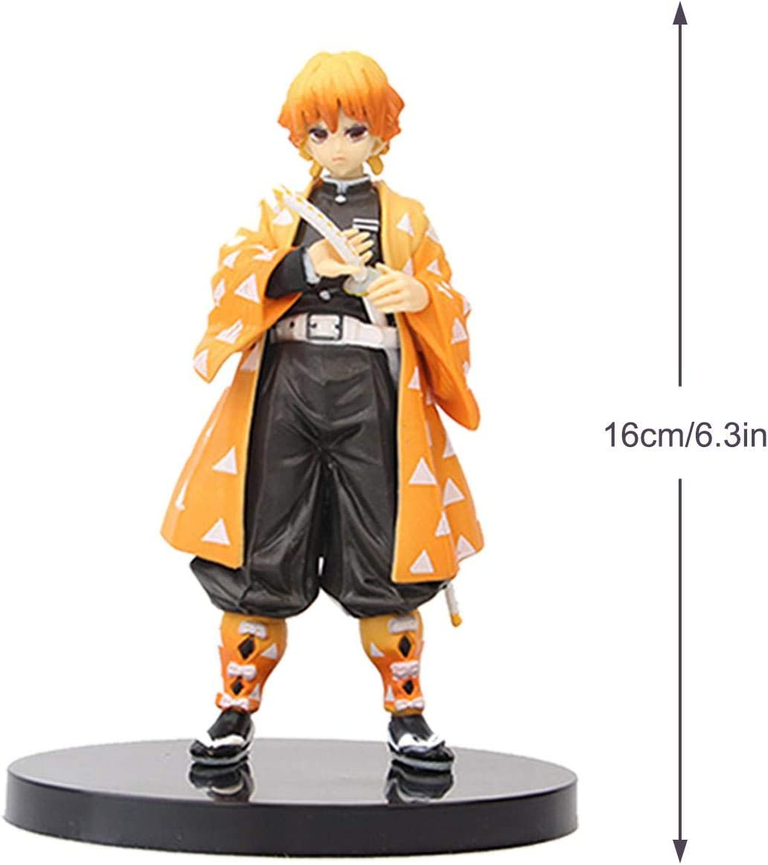 arthomer Demon Slayer Figur,Japan Anime Figur Coole S/ü/ße Puppen F/ür Fans Spielzeug Sammlung,16 cm