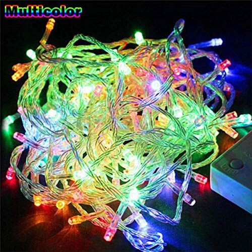 No brand Led String Fairy Light vakantie Patio kerstdecoratie waterdichte buitenlamp slinger 5 Mt 40 LEDS multicolor