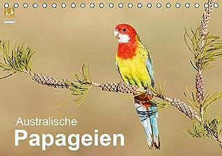 Australische Papageien (Tischkalender 2021 DIN A5 quer)
