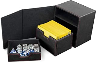 BCW Deck Vault Box LX Black (Holds 100 Cards) Card Box